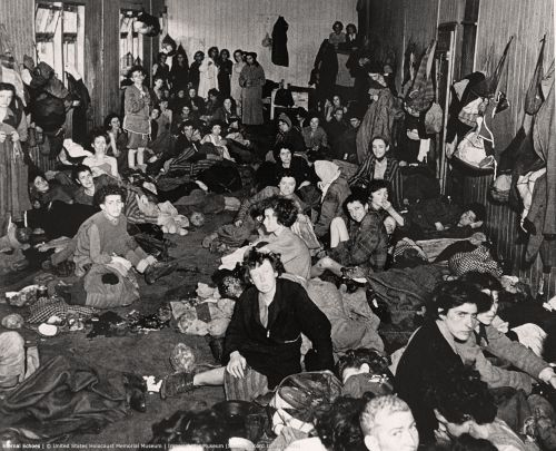 female-survivors-gypsy-barracks