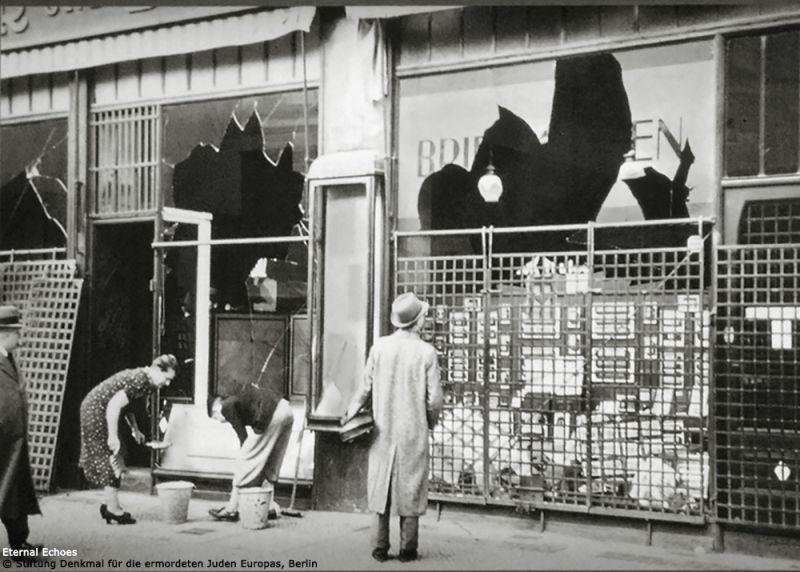 4-1 Storefront Kristallnacht 1938