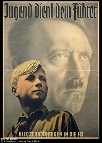 2-3 Poster Hitler Youth
