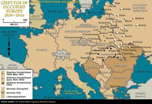 3-3 ghettos Europe